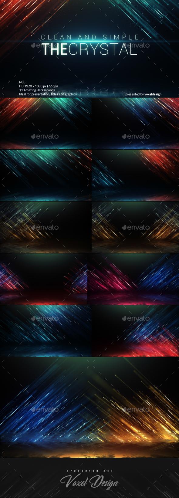 奢华光效水晶粒子线帘背景展示颁奖晚会时尚典礼年会活动现代标题片头-AE模板