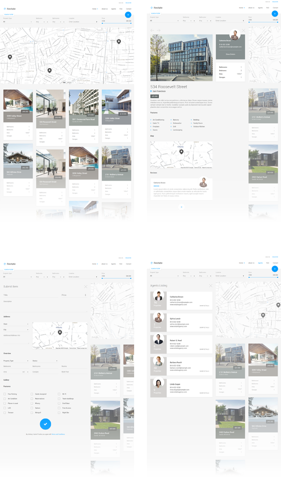 Restate - Different Real Estate Material Template - 5