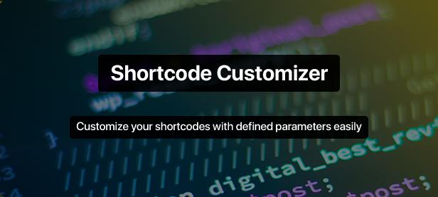 Shortcode Mastery - 1