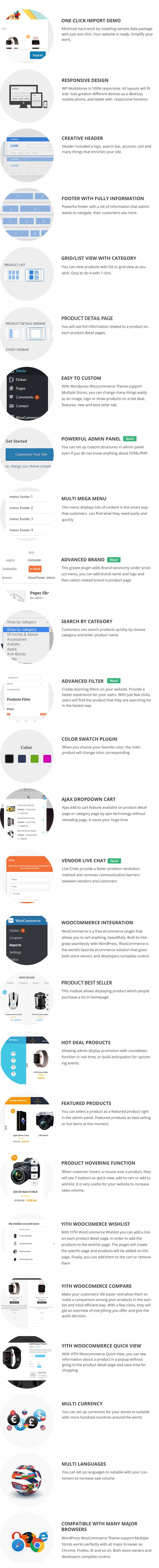 Marketplace WP Theme support Dokan Multi Vendors - 20