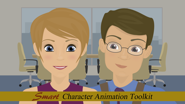 Smart Character Animation Toolkit