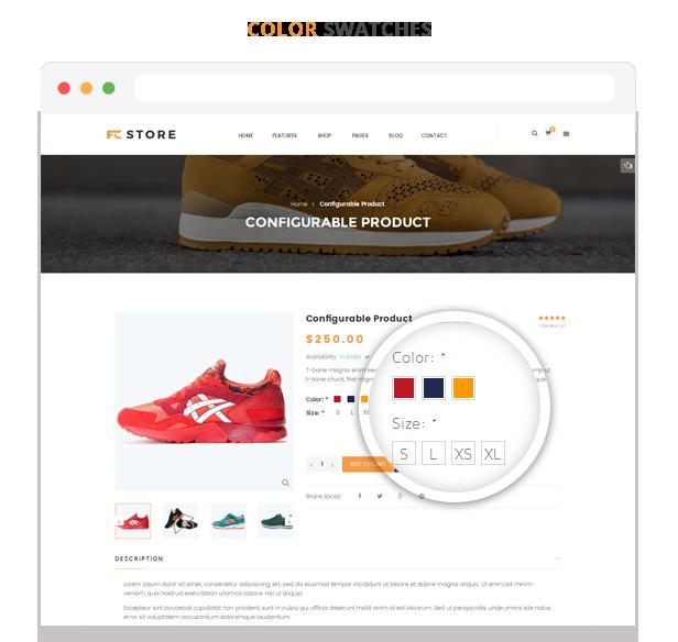 FCstore - Color Swatches