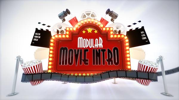 Modular Cinema Intro Logo Reveal - 3