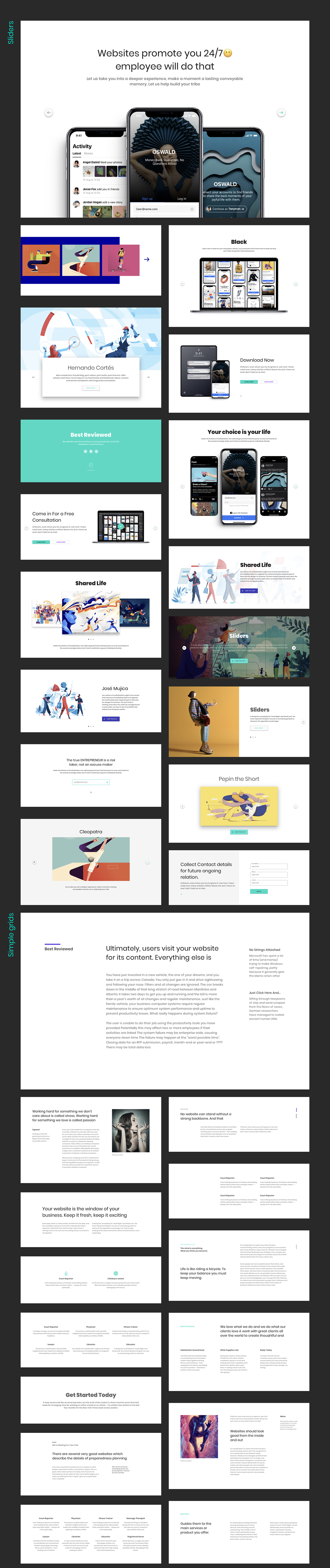 Ataman UI Kit - Templates For Website [Figma] - 3