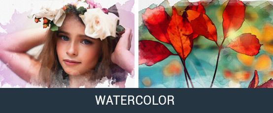 Watercolor Photoshop Action - 25