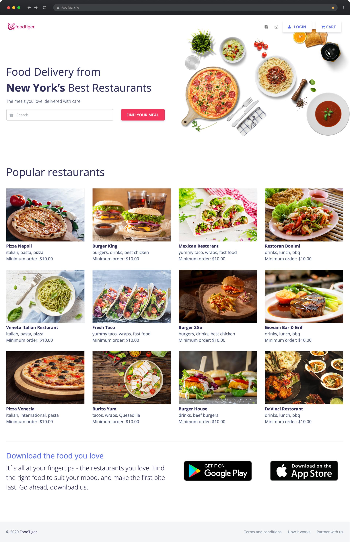 FoodTiger - Food delivery - Multiple Restaurants - 10