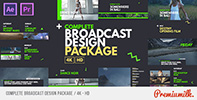 Broadcast Cards Package - 9