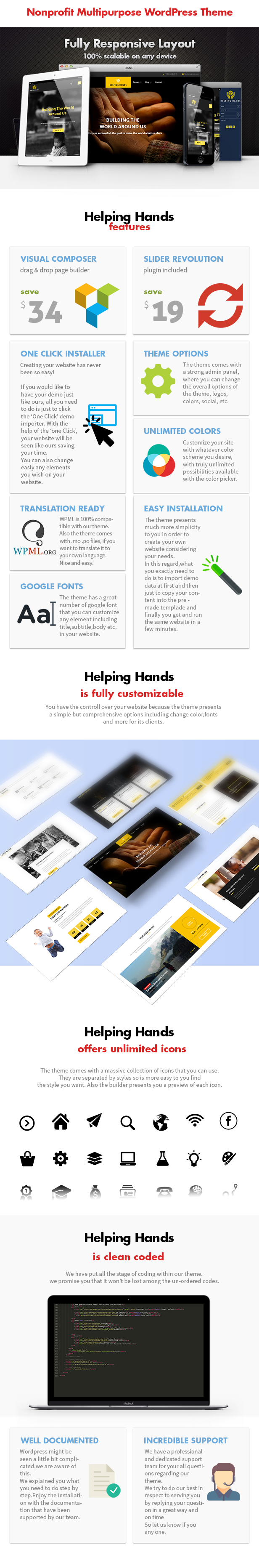 Helping Hands - Crowdfunding Charity Theme - 6