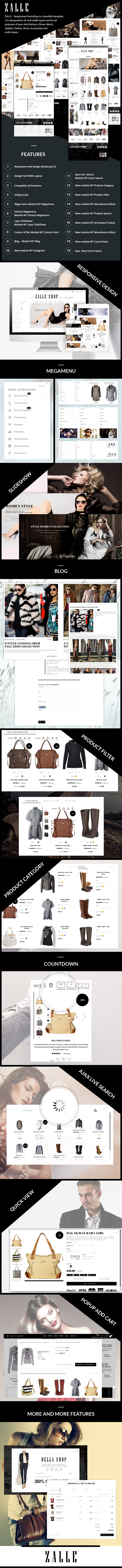 Zalle Perfect Style Prestashop Theme