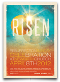 Risen Church Flyer and CD Template