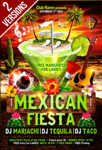 Salsa Party Flyer Template - 8