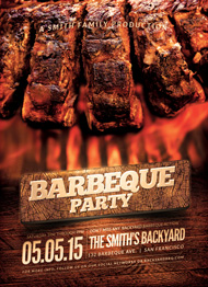Design Cloud: BBQ Party Flyer Template