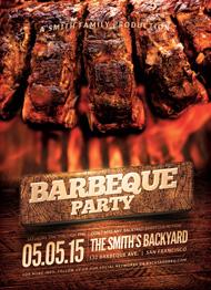 Design Cloud: BBQ Party Flyer Template