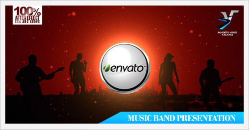 Music Band presentation CS4