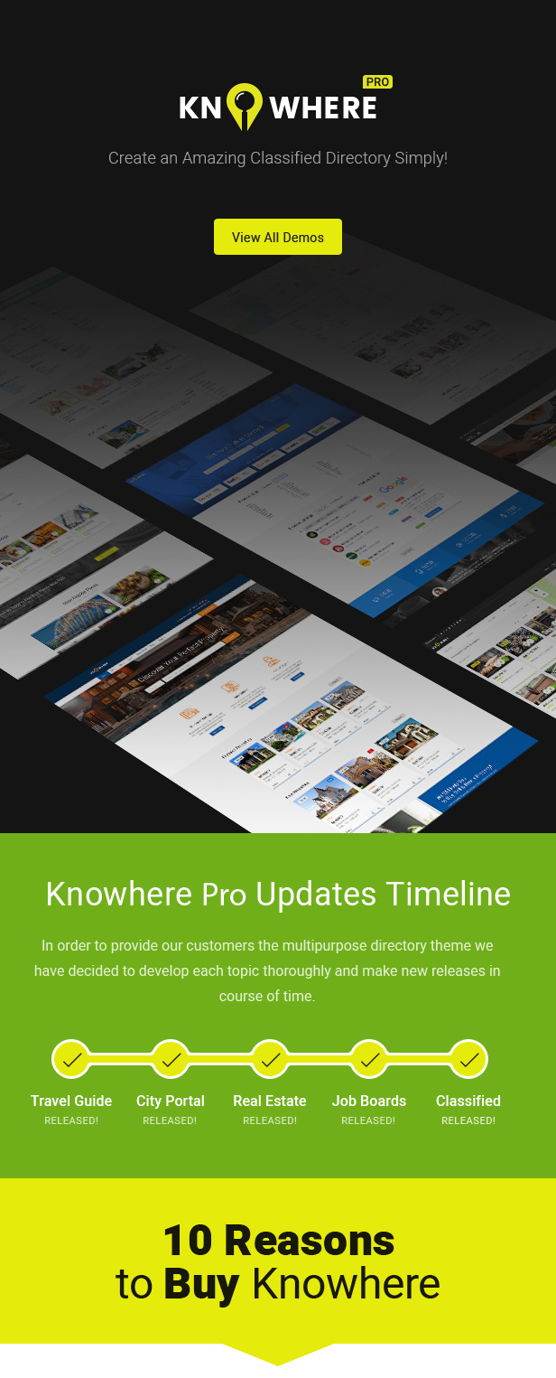 Knowhere Pro - Multipurpose Classified Directory WordPress Theme - 11