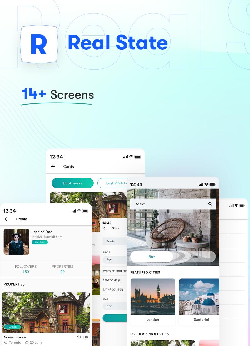 ProKit - Best Selling Flutter UI Kit - 35