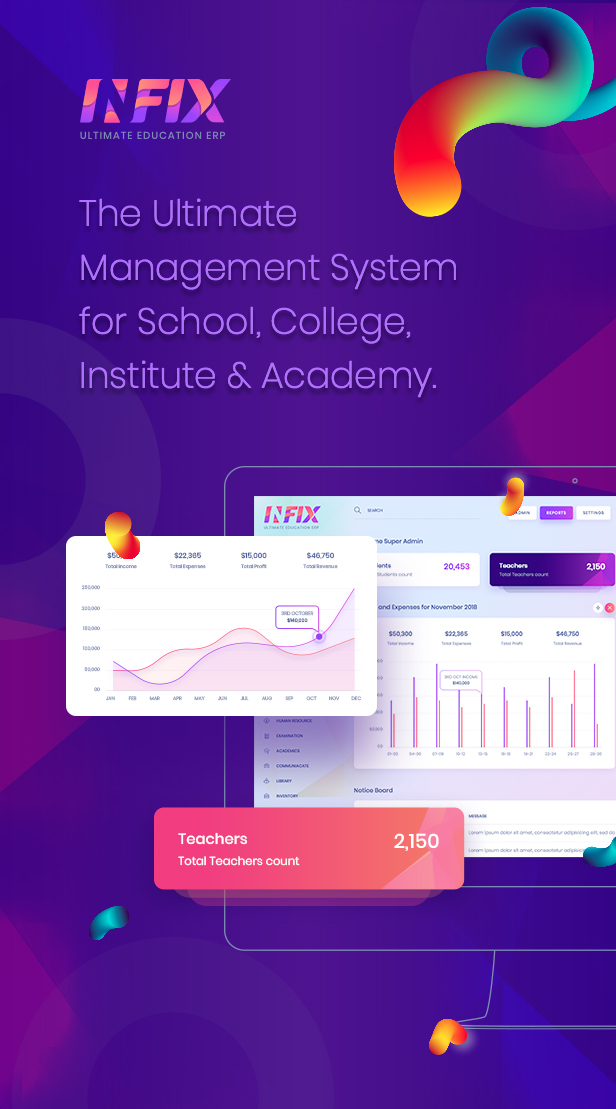 School Management System - ERP Software | Infix - 2