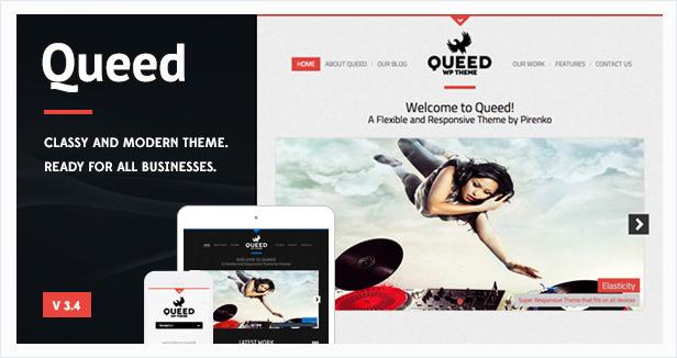 Queed Wordpress Theme