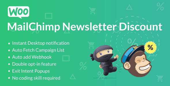WooCommerce MailChimp Newsletter Discount