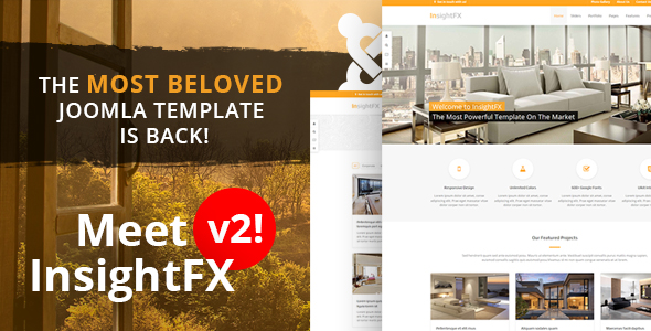 InsightFX - The Best Joomla template