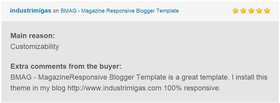 BMAG - Magazine Responsive Blogger Template - 24