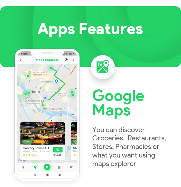 Grocery, Food, Pharmacy, Store Delivery Mobile App with Admin Panel - 2