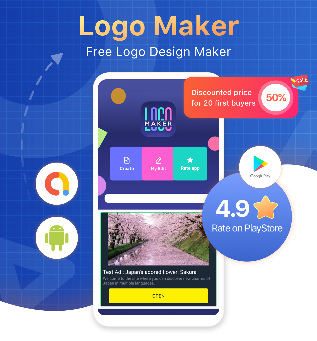 Logo Maker - Graphic Design & Logo Creator - 1