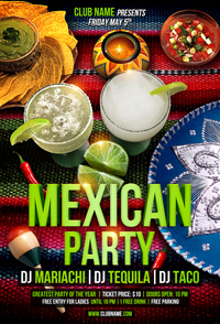 Salsa Party Flyer Template - 51