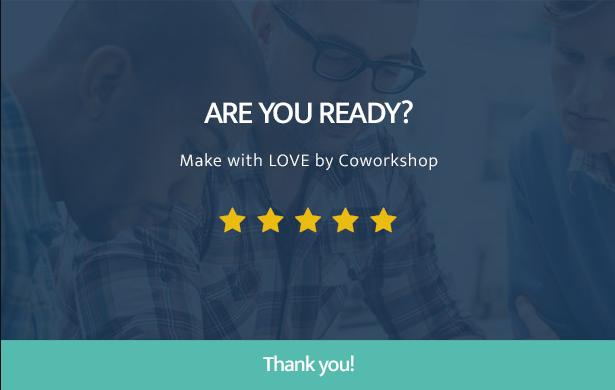 Powerful Coworkshop Coworking Space WordPress Theme