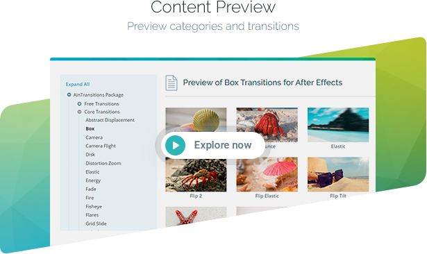 AinTransitions | Ultimate Multipurpose Transitions Pack - 55