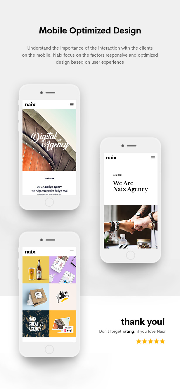 Naix - Creative Portfolio PSD Template - 14