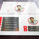 Flat Business Card V-02 - 34