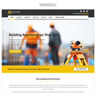Spectrum - Multi-Trade Construction Business Theme - 8