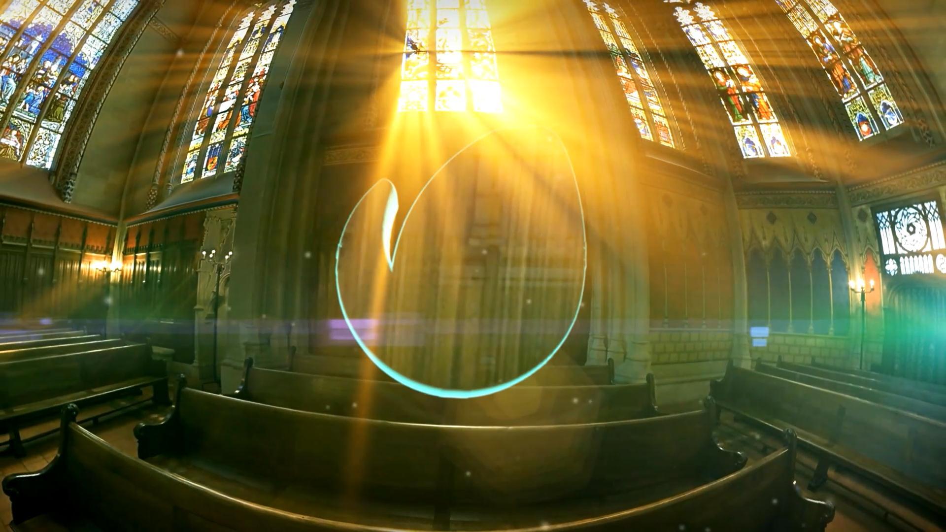 Holy Logo In Church - 5