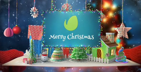 Christmas Paper Card - 3