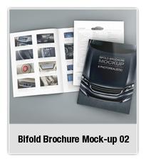 Bifold Brochure Mock-up 03 - 2