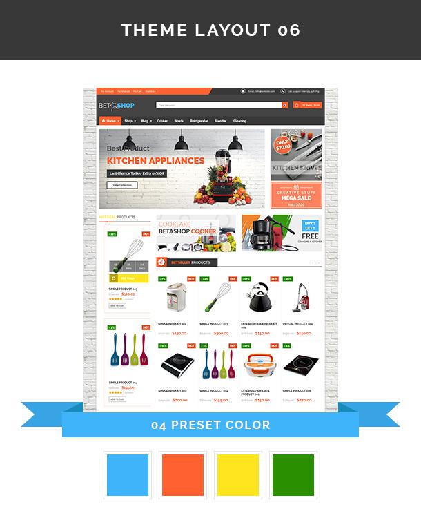 VG BetaShop - Kitchen Appliances WooCommerce Theme - 11