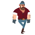 Lumberjack no weapon