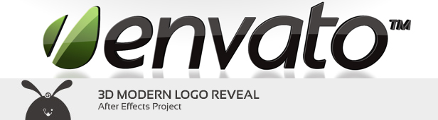 3D Modern Logo Reveal