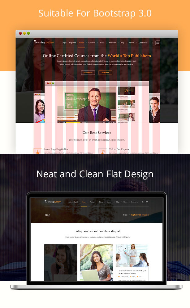 Learning System PSD Template - 16