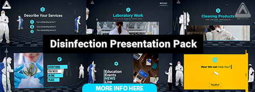 Desinfection Presentation Pack