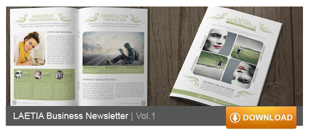 indesign newsletter