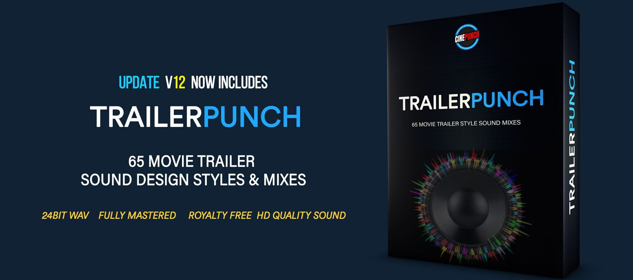 Videohive CINEPUNCH V.12 - 7500+ Elements and Growing! 20601772 [Update]!