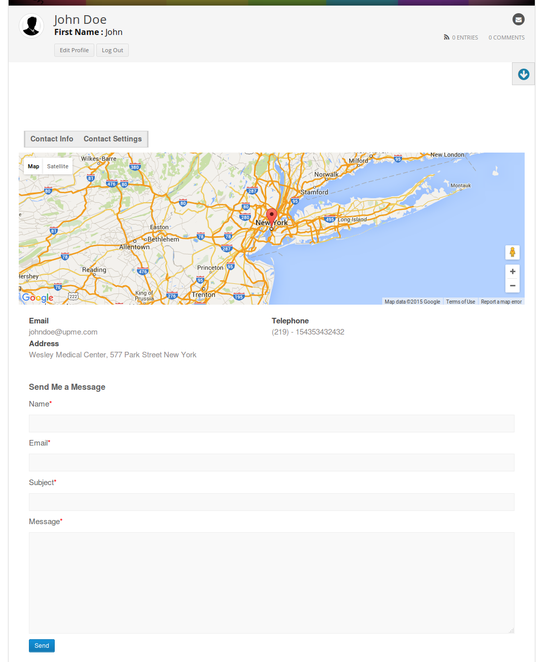 User Profiles Made Easy - WordPress Plugin - 262