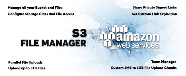 AWS Amazon S3 - Ultimate Personal File Manager - 1