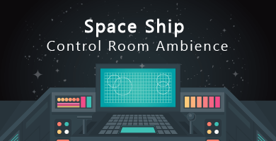 Space Ship Control Room Ambience Sfx