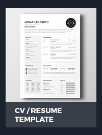 Resume & Cover Letter - 8