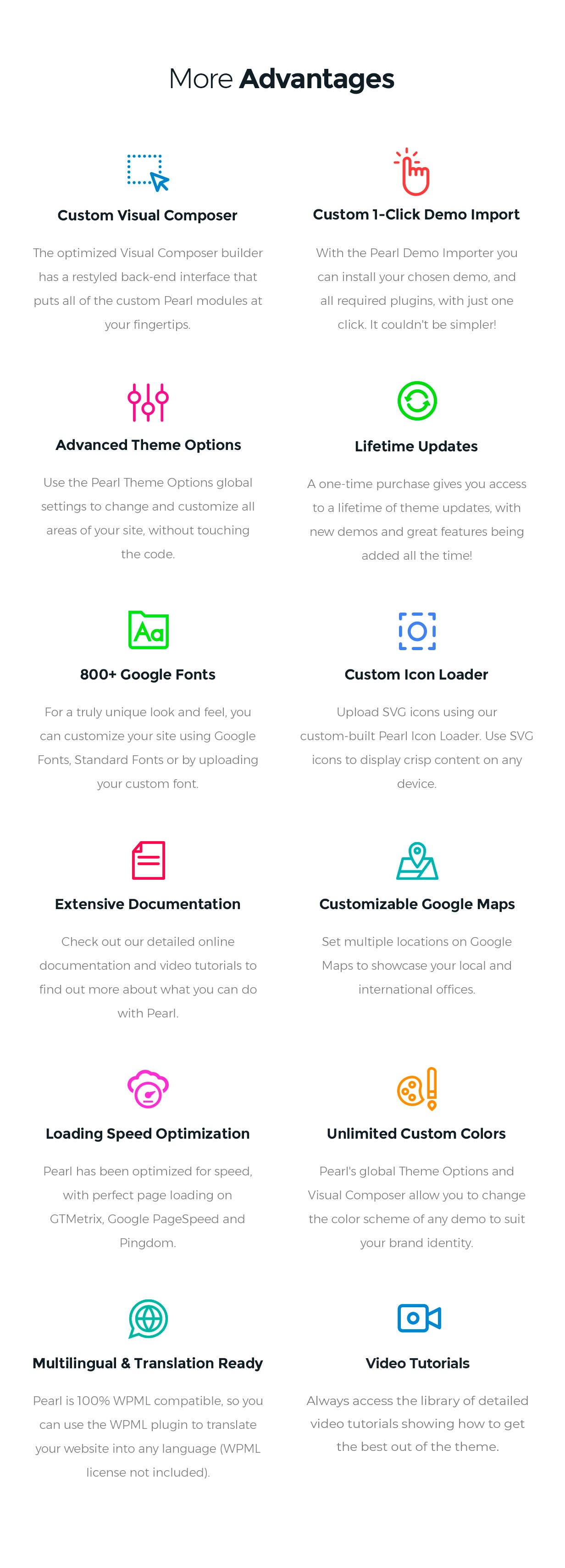 Pearl - Corporate Business WordPress Theme - 13