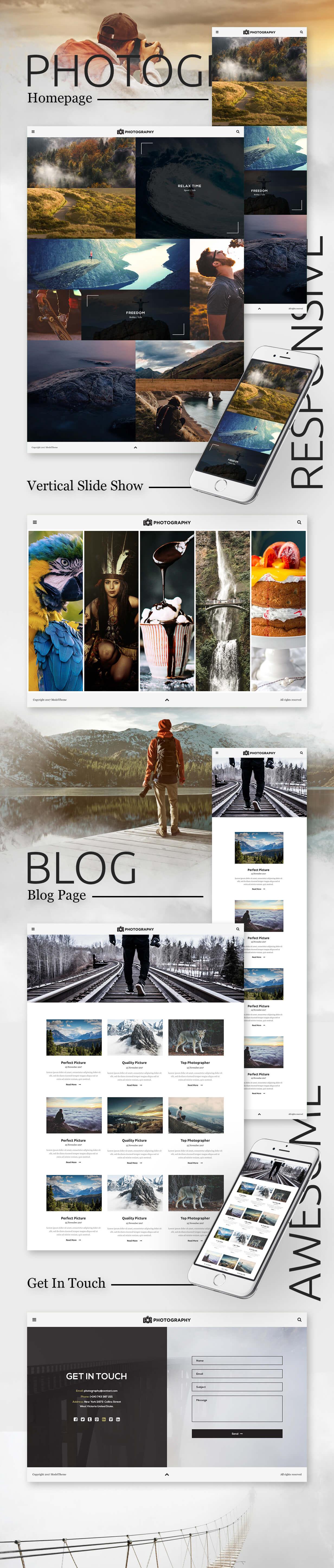 MT Photography - Eye-catching, Unique Photography WordPress Theme - 3