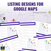 Listing Designs For Google Maps